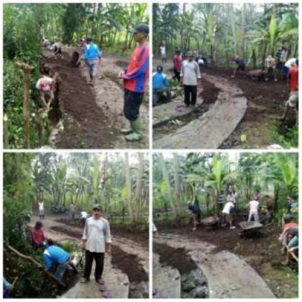 Kerja Bhakti Gotong Royong