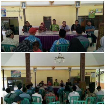 Musyawarah Pembentukan Panitian Penjaringan dan Penyaringan Perangkat Desa
