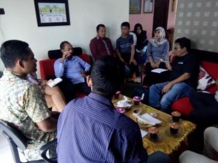 Kunjungan Asia Foundation bersama Tim KOMPAK dan Tim PUPUK