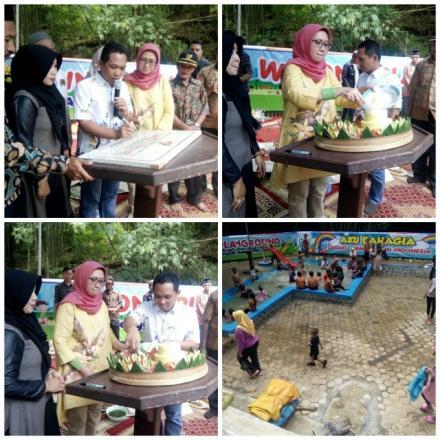 Peresmian dan Pembukaan Winong Playground oleh Bupati dan Wakil Bupati Lunajang
