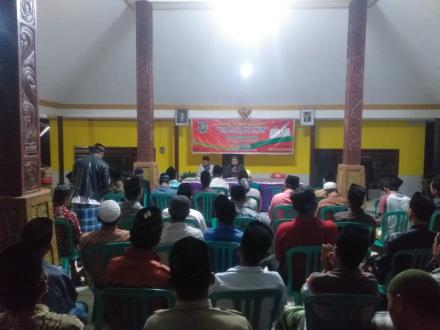 Musyawarah Dusun Penyusunan RPJMDes Tahun 2020-2026